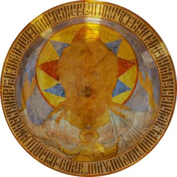 Роспись юго-восточного купола: «Отечество»