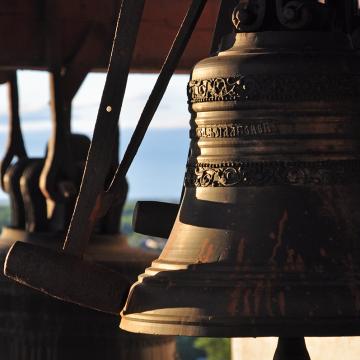 Колокола соборной колокольни. Фото А.А. Бобкова 2012 года.