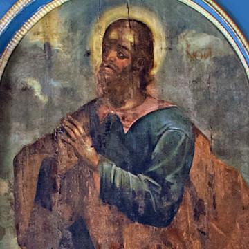 Праотец Ной. 247×127 см. Максим Искрицкий, 1736–1738 гг. (ВОКМ 16423/3)