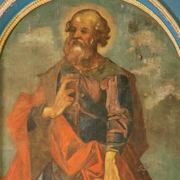 Праотец Лот. 247×127 см. Максим Искрицкий, 1736–1738 гг. (ВОКМ 16423/9)